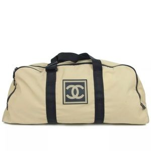 Chanel sports Boston large bag
